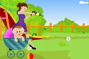 《辣妈杀蚊护宝宝》游戏画面1