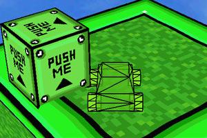 《3D大脚绿色草原》游戏画面1