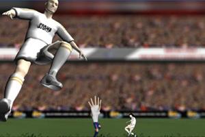 《梅西手球了!》游戏画面1