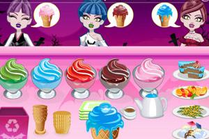 《吸血鬼冰淇淋店》游戏画面1