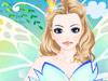 美丽蝴蝶女孩