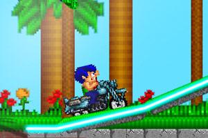 《小小摩托车》游戏画面1