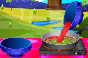 《番茄比萨酱》游戏画面1