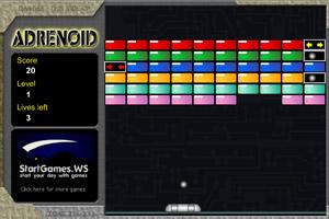 《彩色打砖块》游戏画面1