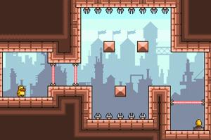 《反重力小鸭2无敌版》游戏画面1