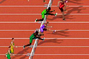 《奥利匹克之跨栏》游戏画面1