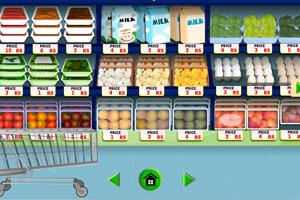 《美女超市购物》游戏画面1