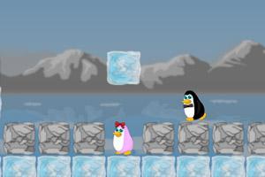 《企鹅找伴侣》游戏画面1