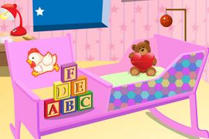 《可爱婴儿房间》游戏画面1