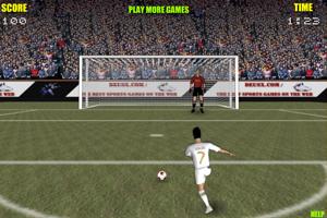 《世界杯点球挑战赛》游戏画面1