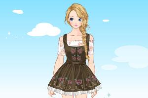 《阿尔卑斯山上的女孩》游戏画面1