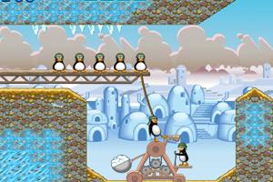 《企鹅士兵大拯救修改版》游戏画面1