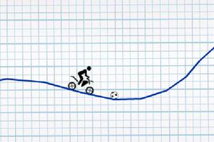 《火柴人骑车》游戏画面1