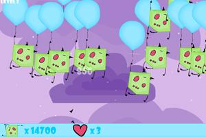 《吊气球的恶魔》游戏画面1