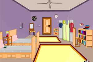 《双人床单人房》游戏画面1