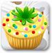炫彩纸杯蛋糕