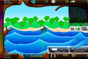 《飞猴吃香蕉2》游戏画面1