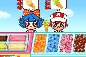 《冰淇淋糖果店》游戏画面1