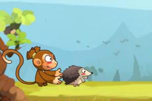 大脸猴和火刺猬无敌版