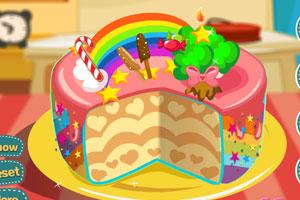 《彩虹蛋糕》游戏画面1