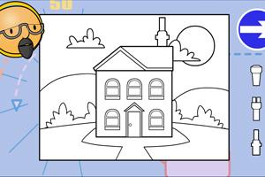 《巴布设计房子》游戏画面1