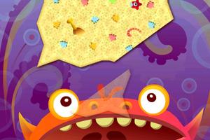 《大嘴怪吃薯片》游戏画面1