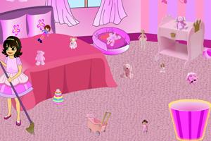 《粉色房间大清扫》游戏画面1