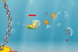《黄小鸭潜水大战》游戏画面1