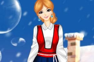 《瑞典民间服饰》游戏画面1