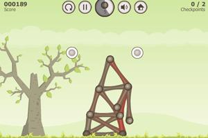 《黏黏球建高塔四季版》游戏画面1