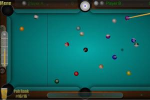《美式桌球》游戏画面1