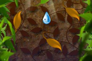 《下落的雨滴》游戏画面1