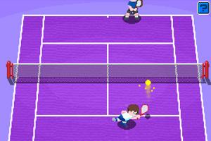 《天才网球小子》游戏画面1