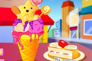 《动物冰淇淋》游戏画面1