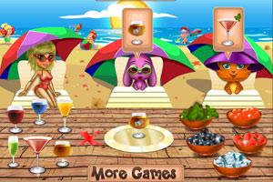 《丽莎沙滩鸡尾酒》游戏画面1