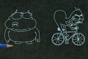 《铅笔画小人5》游戏画面1