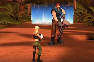 《亚马逊女特警无敌版》游戏画面1