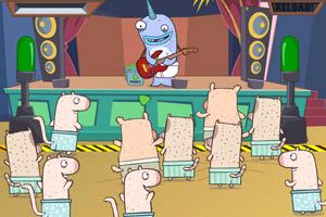 《鱼人的吉他》游戏画面1