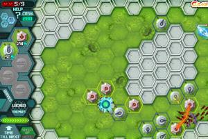 《蜂巢星塔防》游戏画面1