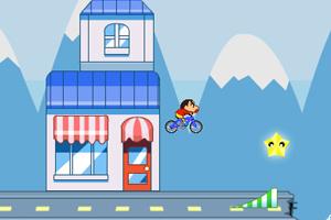 《蜡笔小新骑车冒险5无敌版》截图1