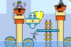 《水上游乐园找平衡》游戏画面1