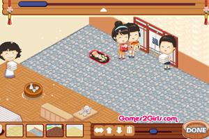 《搭建温泉旅馆》游戏画面1