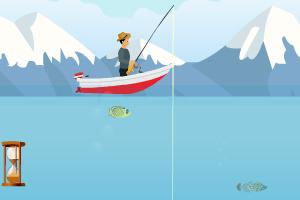 《冰山钓鱼》游戏画面1