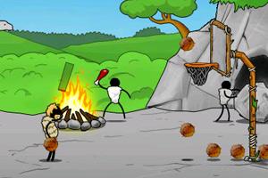 《部落投篮》游戏画面1