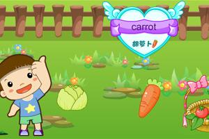 《新鲜的蔬菜英文版》游戏画面1