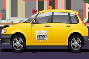 《粉刷出租车》游戏画面1