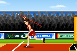 《奥运标枪赛》游戏画面1