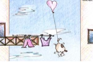 《气球飞猫》游戏画面1