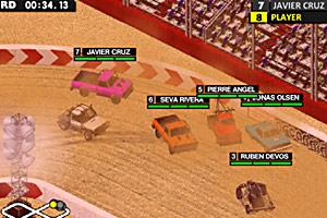 《3D疯狂车赛无敌版》游戏画面1