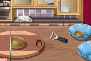 《莎拉蛋糕烹饪》游戏画面1